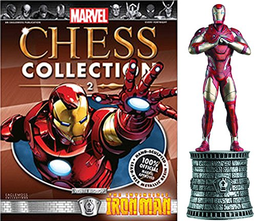 Eaglemoss Marvel Chess Figurine Collection Nº 2 Iron Man