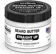 Live Bearded Unscented Beard Butter, Straight Up All Natural Beard Butter