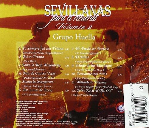 Sevillanas Para El Recuerdo Vol.2: Grupo Huella: Amazon.es: Música