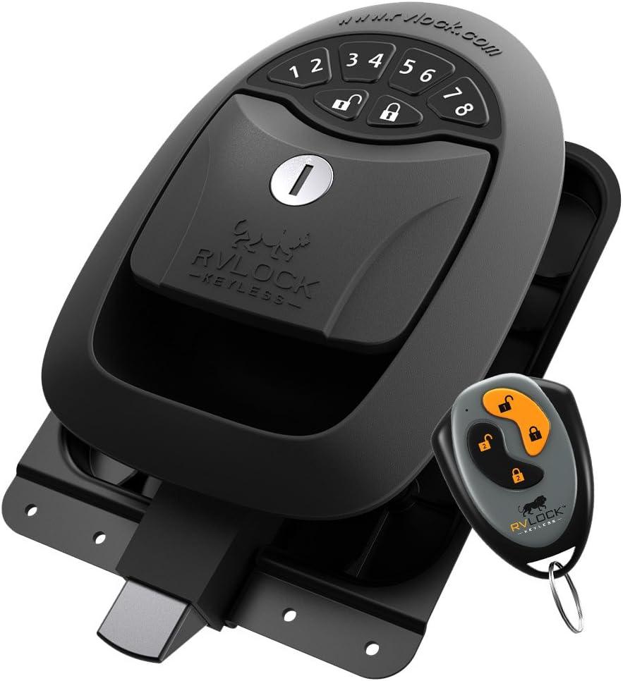6 RVLock Keyless Compartment Integrated Keypad