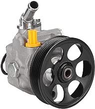 Qiilu Power Steering Pump Power Assist Pump Fit for 2009 2010 Subaru Forester, 2010 2011 2012 Subaru Impreza 21-331 34430SA0219L