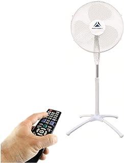 Pyramidea AWFANNY40P - Ventilador de pie, aspas de 40 cm de diámetro, mando a distancia