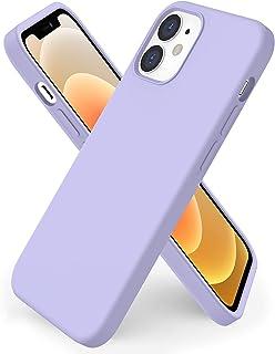 ORNARTO kompatibel mit iPhone 12 | 12 Pro 6,1 Silikon Case, Hülle Ultra Dünne Voller Schutz Flüssig Silikon Handyhülle Sch...