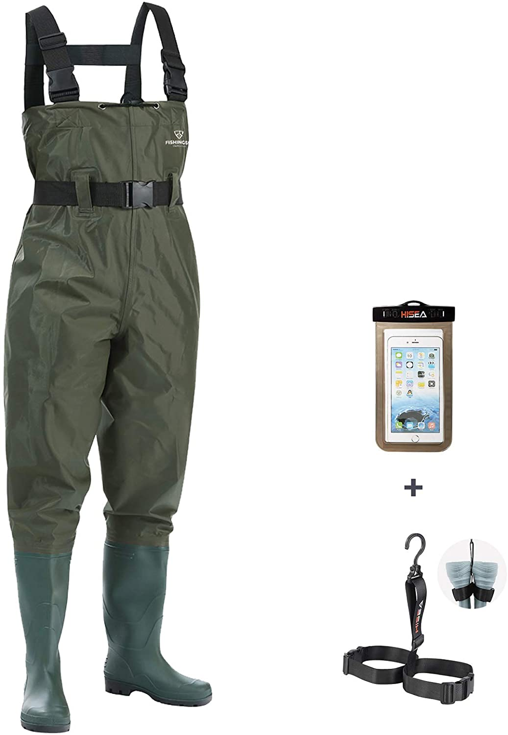 FISHINGSIR Fishing Chest Waders for Men H Boots with Regular store Womens Tucson Mall Mens