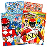 Power Rangers Coloring Book Super Set -- 2 Coloring and...