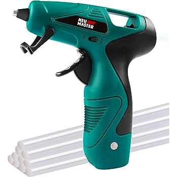 Cordless Hot Glue Gun, Rapid Heating UL Certified Glue Gun Kit with Premium Glue Stick, NEU MASTER USB Recharging Hot Melt Glue Gun for DIY Project, Crafts Making, Gift Decorations & Daily Repairs