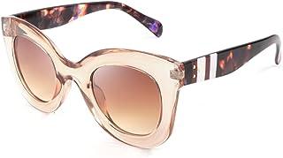 نظارات شمسية من FEISEDY للرجال والنساء بإطار عريض سميك كلاسيكي B2572