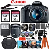 Canon EOS Rebel T7 DSLR Camera with 18-55mm Lens - 24.1 MegaPixels, Wi-Fi, 1080p HD + Accessory Kit -...
