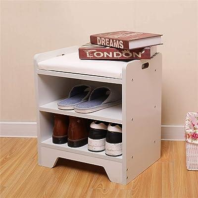 Amazon Com Homranger Change Shoe Bench Shoe Rack Shoe Cabinet