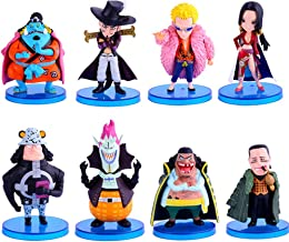 Coz' Place 8 Pieces One Piece Oka Shichibukai 7 Warlords of The Sea Pirates Action Figure Collection Set