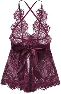 BBLingerie Ladies Satin Cami Tops Plus Size Lace Purple Blue Red Ivory White Black PJ Nightwear Christmas Valentines 10-28