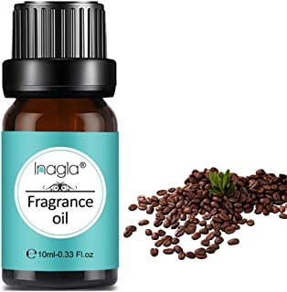 Inagla Aceites de Fragancia Aceites de Aromaterapia Aceites Esenciales para Humidificadores de café 10ML
