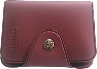 Jeezbier Purple Artificial Leather Credit Card Wallet (12 Card Slots)