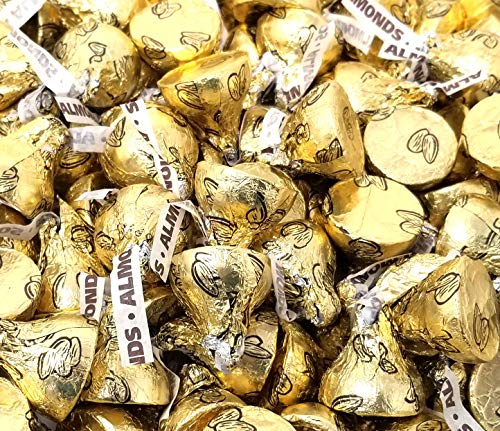 Hershey's Kisses Almond Gold Foils