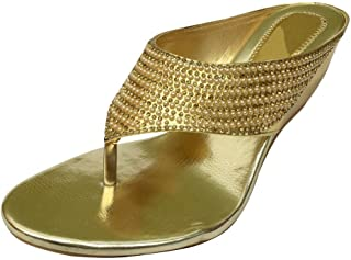 New Ladies Tbar Mid Heel Peep Toe Diamante Sandals Wedding Indian Shoes