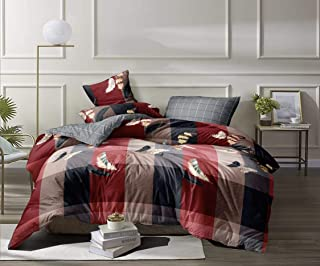 SpangleHomes Super King Size Bedsheet with 2 Pillow Covers Soft Cotton Size 255 X 275 Cm (Multicolour)