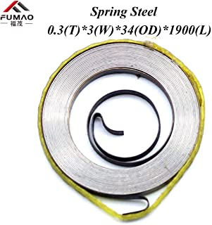 constant force coil spring