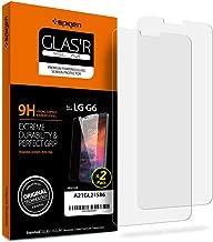 Spigen Tempered Glass LG G6 Screen Protector [ Case Friendly ] [ 9H Hardness ] for LG G6 (2 Pack)