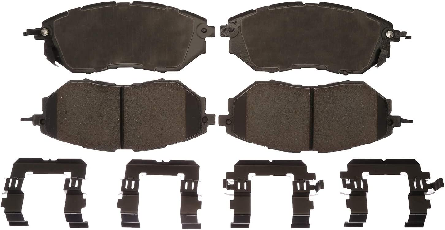 Bombing new work 2021 new ACDelco Gold 17D1078CH Ceramic Front Set Brake Pad Disc