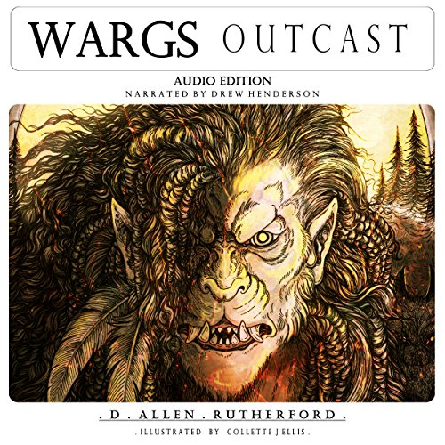 Wargs: Outcast audiobook cover art