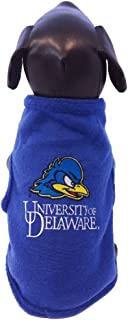 NCAA Delaware Fightin' Blue Hens Sleeveless Polar Fleece Dog Sweatshirt
