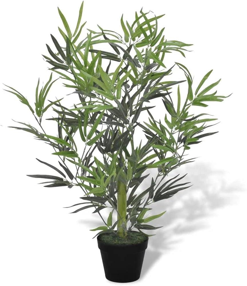 vidaXL Artificial Bamboo Direct sale of manufacturer Tree w Pot Decor Plant 31