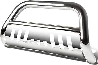 For Dodge Durango/Jeep Grand Cherokee WK2 3 inches Bumper Push Bull Bar+Removable Skid Plate (Chrome)