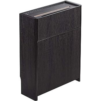 サンワダイレクト ケーブルボックス 木製 ケーブル ルーター 収納ボックス 幅40cm 高さ52.5cm 200-CB017DBRM