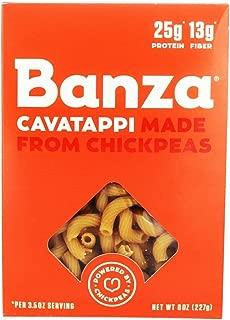 BANZA, Pasta, Chickpea, Cavatappi, Pack of 6, Size 8 OZ, (GMO Free)