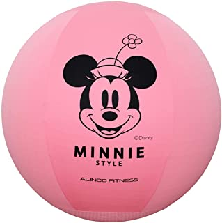 ALINCO(アルインコ) ディズニー ミッキー & ミニー エクササイズボール 65cm  カバー付き (洗濯可 滑り止め付き) DSY125M