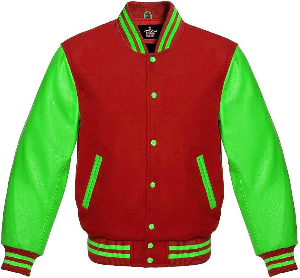 Ranking TOP10 Varsity Jacket Baseball Letterman Collage Premium School Bomber 2021new shipping free shipping