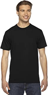 American Apparel Men's Fine Jersey Crewneck Short Sleeve T-Shirt, 2-Pack