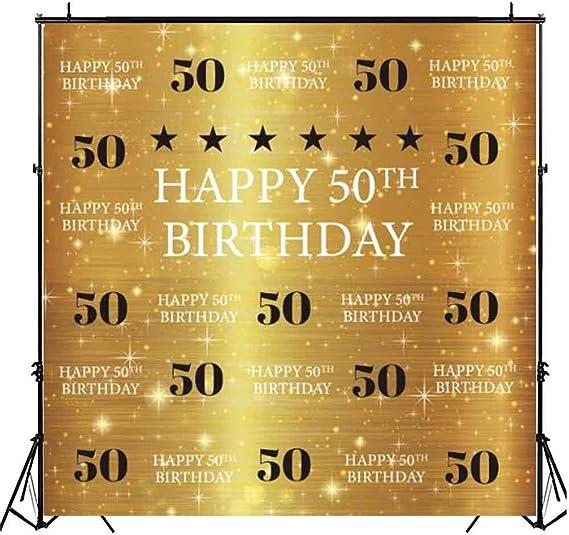 Funnytree Fotohintergrund Zum 50 Geburtstag Kamera