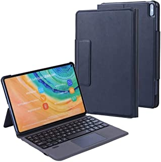 TouchPad Keyboard Case for Huawei MatePad Pro 10.8 5G 2020/Huawei MatePad Pro 10.8 2019,Backlits Bluetooth Keyboard Flip S...