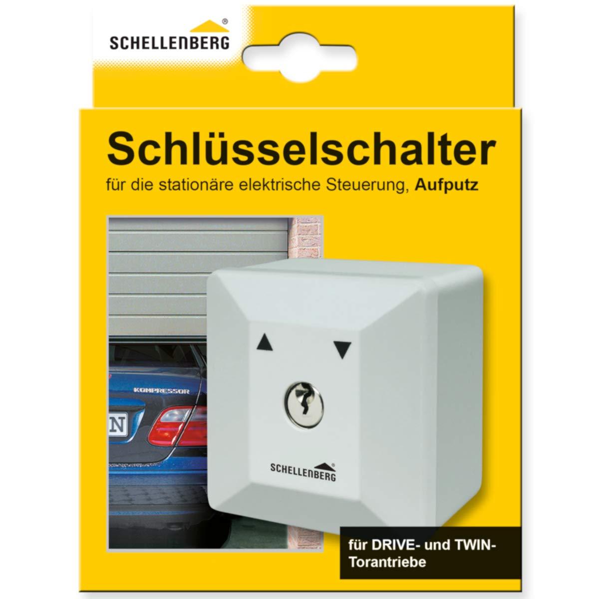 Interruptor con llave para instalaci/ón en pared Schellenberg