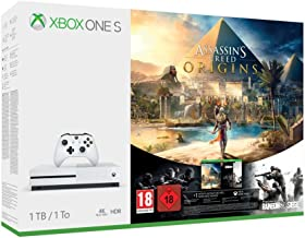 Xbox One S - Consola 1 TB Assassin's Creed Origins + Tom Clancy's Rainbow Six Siege
