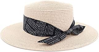 Sun Hat for men and women Male Female Sun Top Hat Couple Straw Hat Outdoor Travel Straw Solid Color Fashion Sunshade