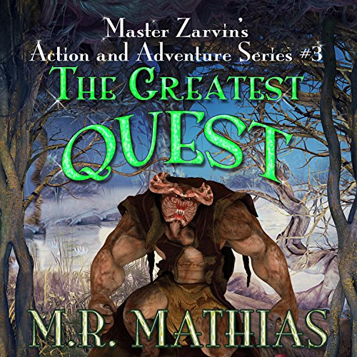 The Greatest Quest audiobook cover art