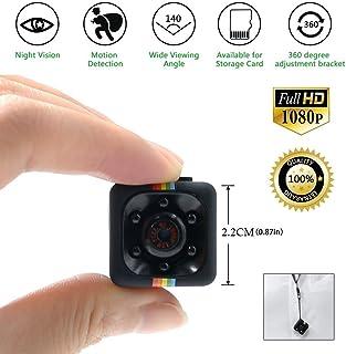 TDC - Camara Espia Mini HD 1080 - Cámara De Vigilancia Compacta Equipada Con Grabador Multifuncional