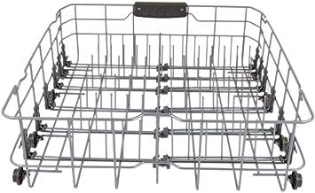 LG 3751DD1001J Dishwasher Dishrack Assembly, Lower Genuine Original Equipment Manufacturer (OEM) Part