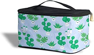 Kawaii Cactus Plants Cosmetics Storage Case - Makeup Zipped Travel Bag