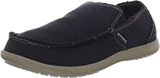 Crocs Mens Santa Cruz Loafer | Casual Comfort Slip On | Lightweight Beach or Travel Shoe