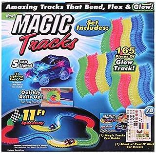 Happytoys Magic Glow Racing Track Set Educational Car With Led Car Toy