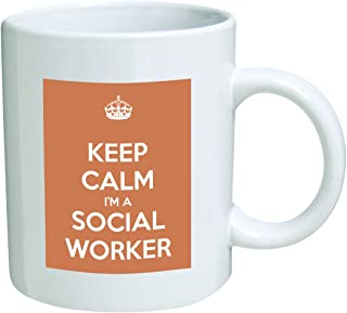Keep Calm I'm A Social Worker Coffee Mug Great Office Novelty