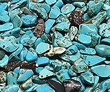 Perlin – 1000 perline di turchese 4 mm ~ 8 mm pietre pietre preziose pietre