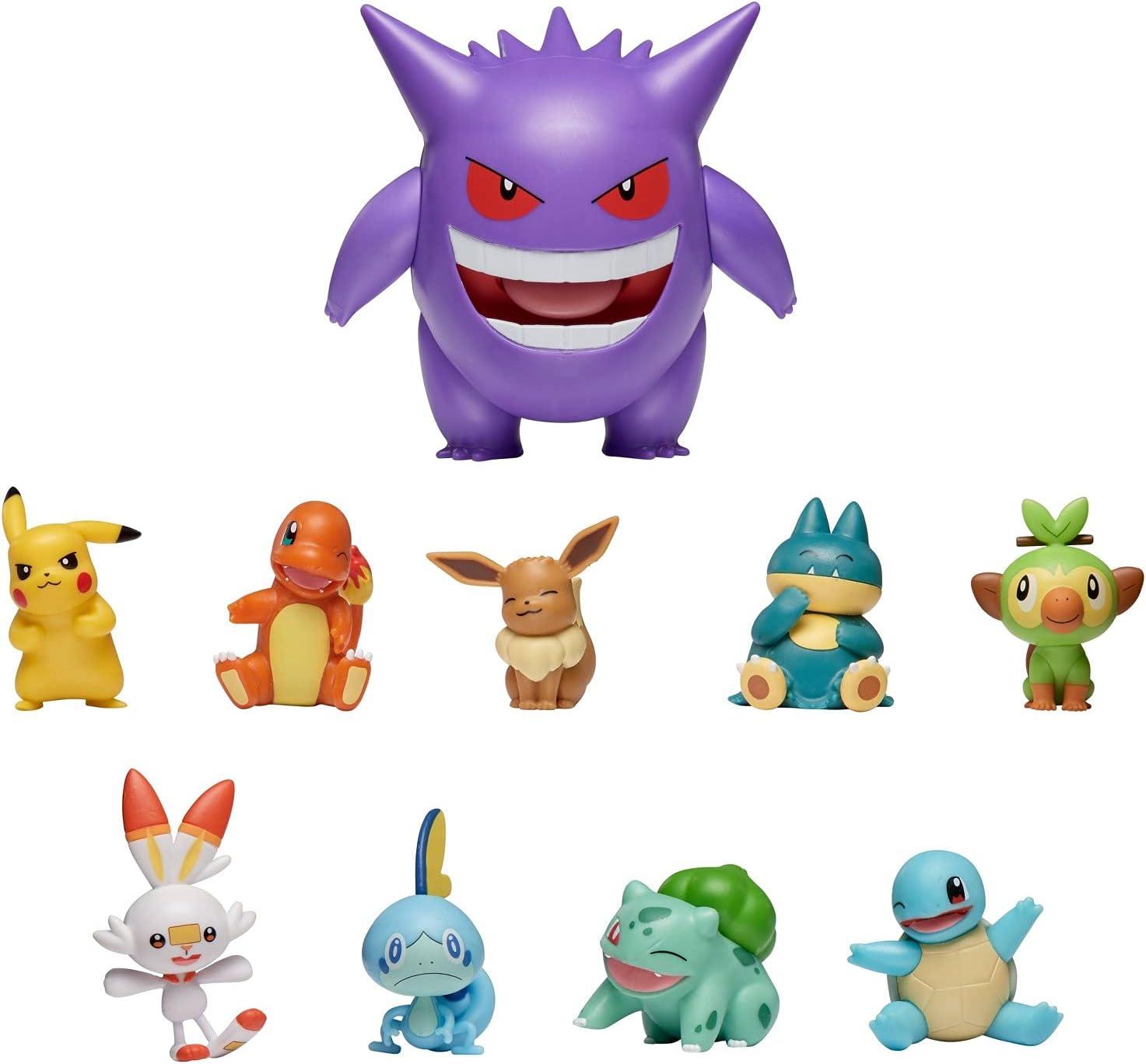 Pokemon Battle Figure Pack *Choose* Pikachu Charmander Bulbasaur Squirtle /& more