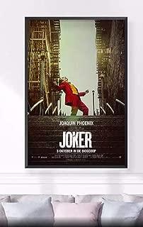 【海外限定】非売品 2019 JOKER 映画ジョーカー バットマン ポスター シルクキャンバス ポスター 60×90cm