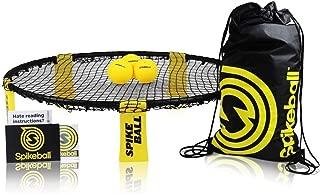 Spikeball Standard 3 Ball Kit – Includes Playing Net, 3 Balls, Drawstring Bag, Rule Book