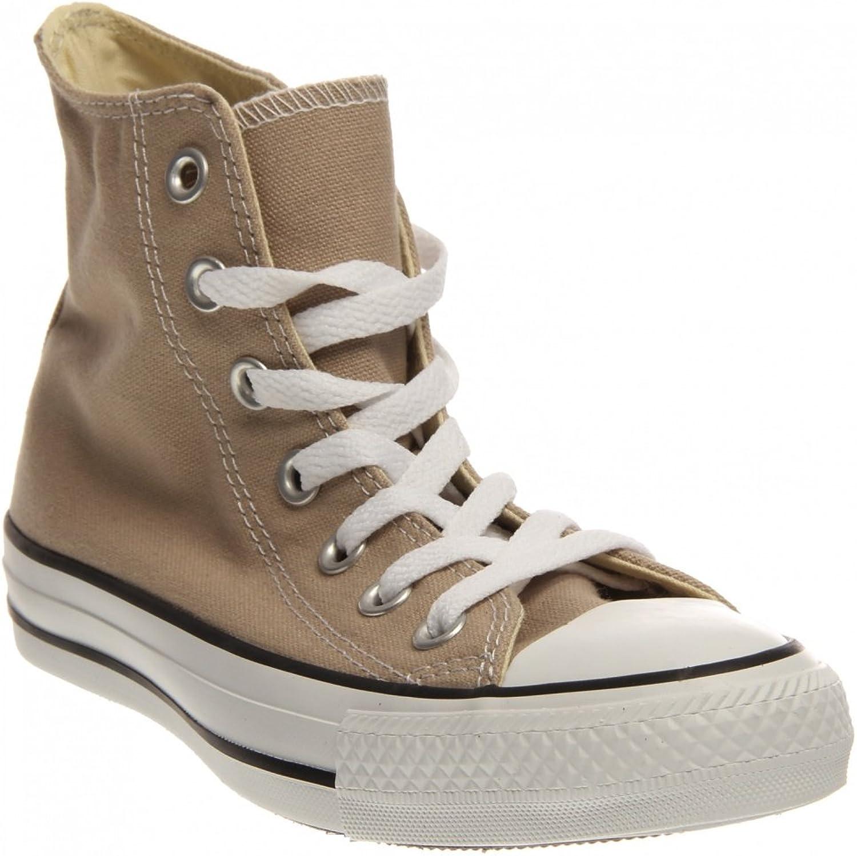 Converse Unisex's Chuck Taylor High Top Sneaker Papyrus Tan   M8, W10   M