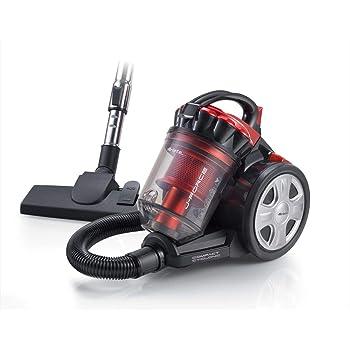 Ariete 2753 J-Force - Aspirador sin Bolsa, tecnología multiciclónica, Filtro HEPA, Triple Clase A, Rojo/Negro: Amazon.es: Hogar